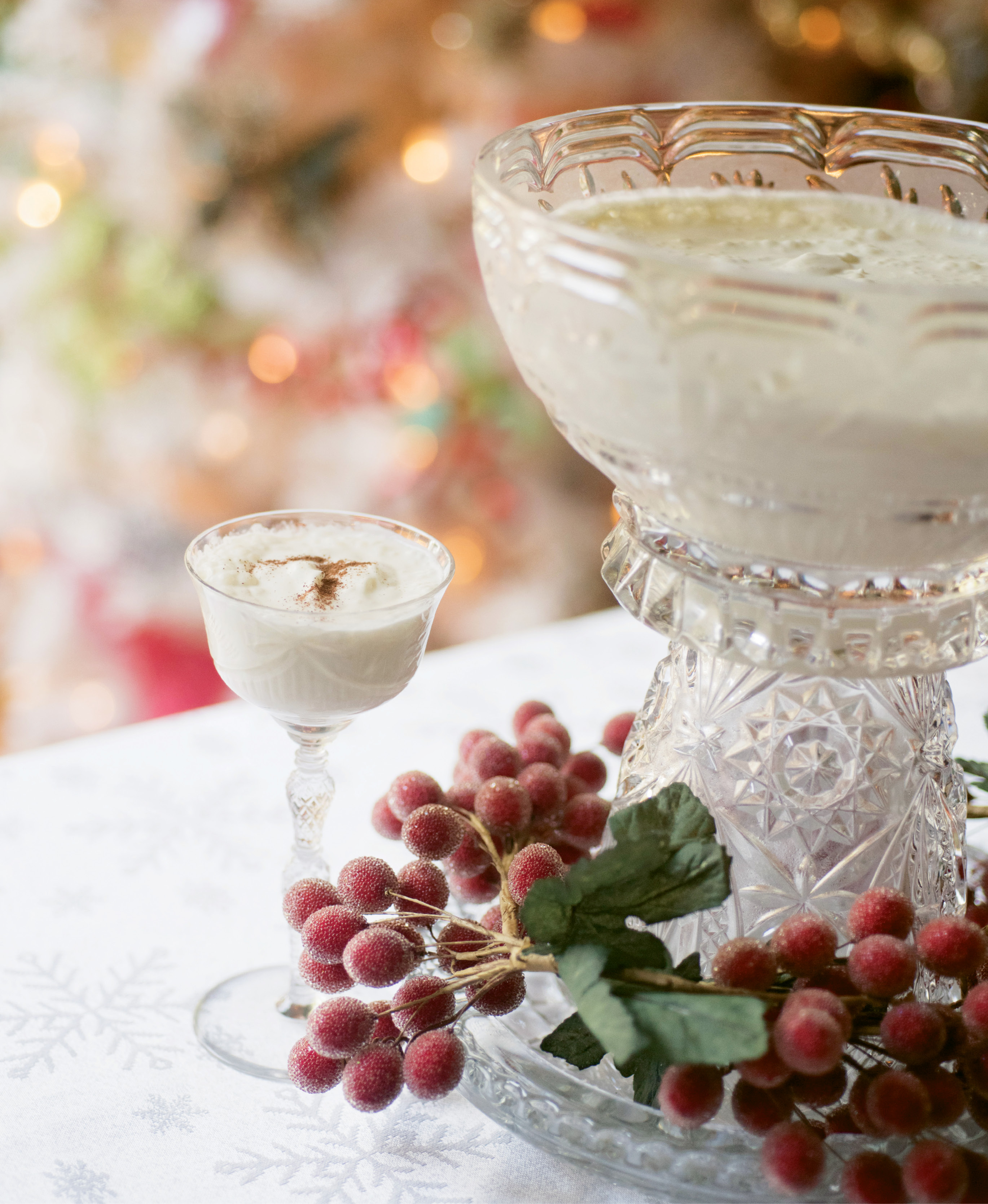 Traditionally, syllabub is made in a churn, but an emulsion blender makes a fine substitute.
