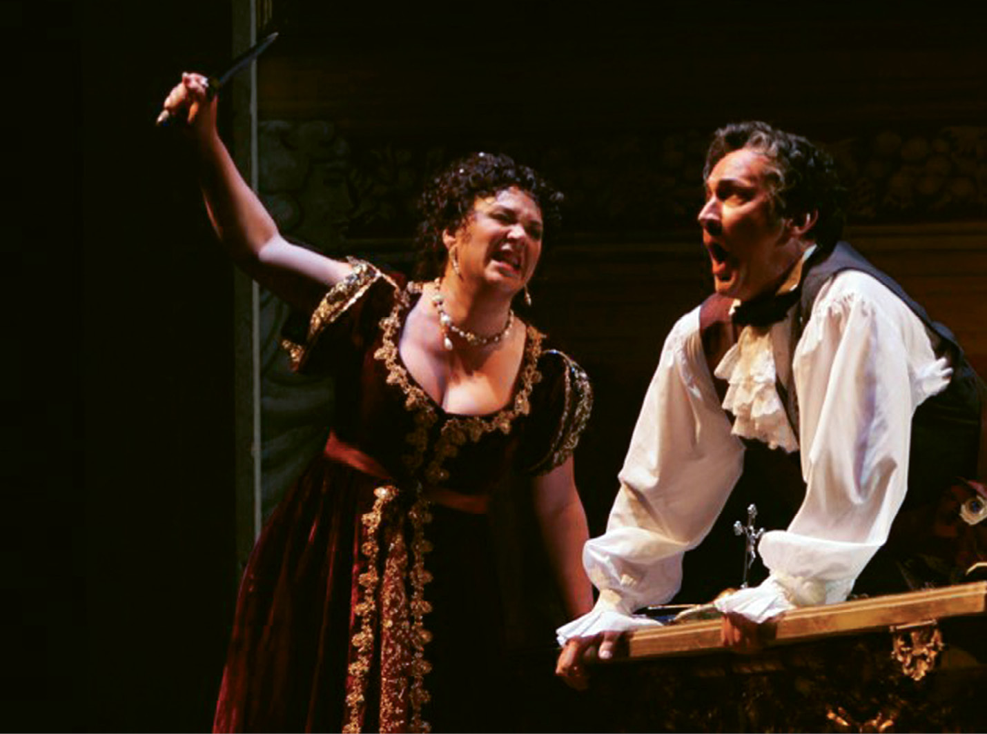 ...the fundraising for which will kick off with a benefit performance of Puccini's Tosca at the Gaillard Center this month
