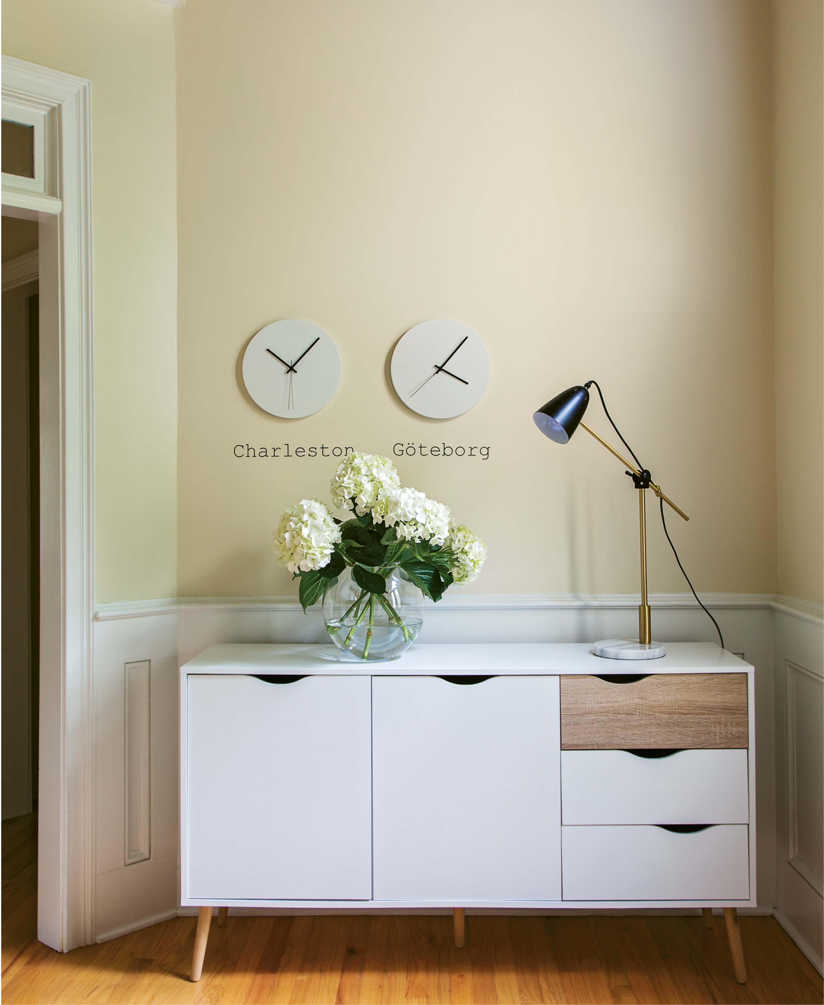 Nordic Track - Light and practical, Scandinavian design makes a visiting Swedish family's temporary abode feel like home.