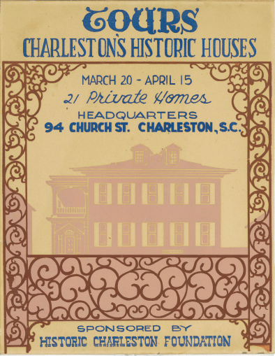 A 1950 poster boasts of 21 houses on tour.