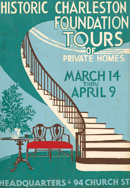 The 1954 tour poster