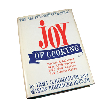"Food for Thought:  ""Greer reads cookbooks leisurely, which I didn't realize people did. She'll bring them to the beach."""