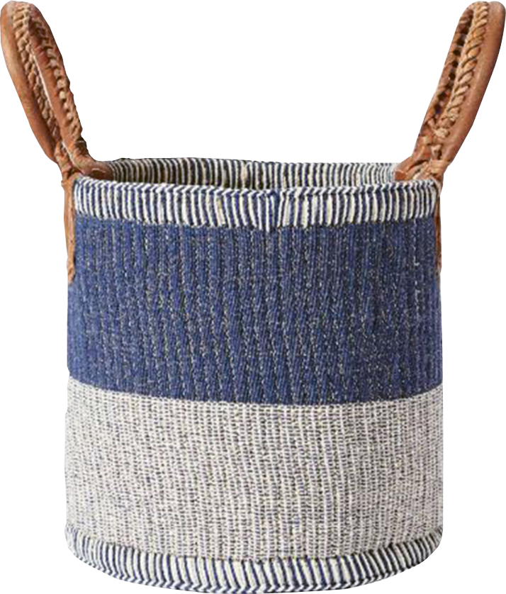 """""""Huntington"""" basket by Serena and Lily, $148  (for 14- x 16-inch size) at  serenaandlily.com"""