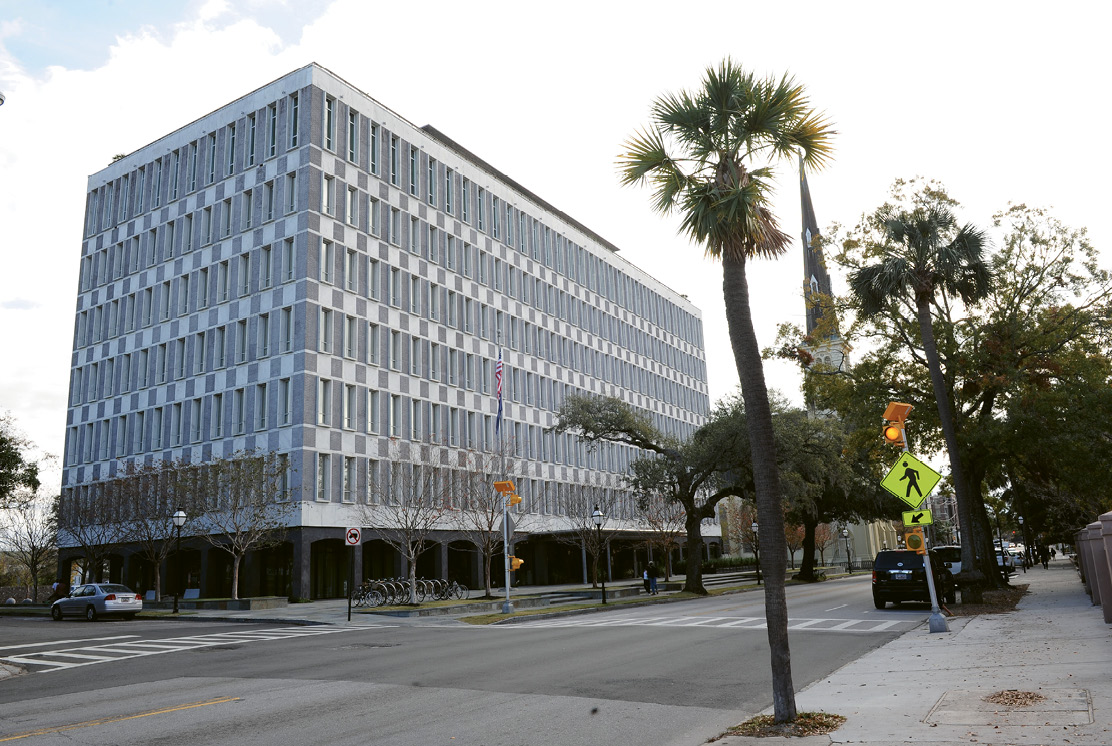 The Dewberry, the long-empty L. Mendel Rivers Federal Building transformed into a mid-century gem