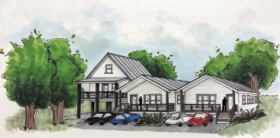 WE BUILD plans to break ground soon on one of four lots in Union Heights donated by Rev. Edwin McClain. The homes, designed by architect April Magill of Root Down Designs, will be constructed out of renewable materials and are designed to be energy-efficient and low-maintenance with a low life-cycle cost.