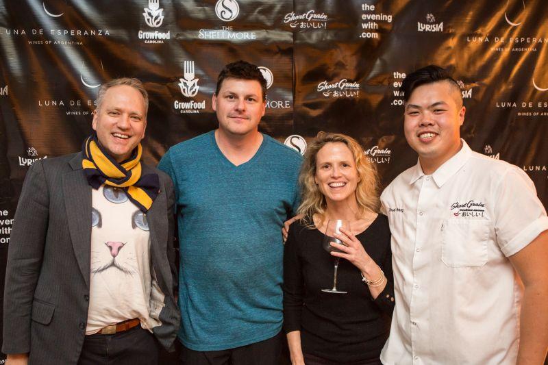 John Zahl, aka DJ JAZ, Eric Milley, Sara Clow, and Shuai Wang