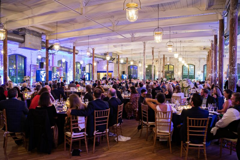 The Cedar Room at the Cigar Factory provided the perfect venue for the annual event.