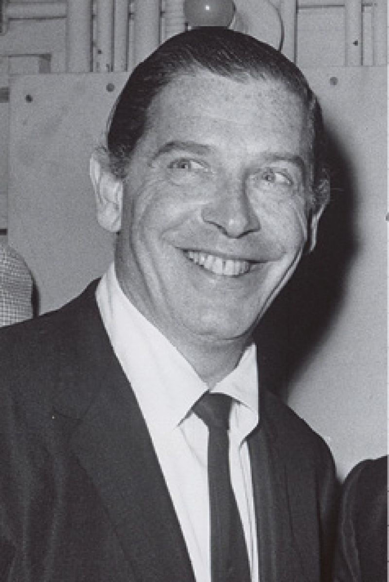 The couple brought comedian Milton Berle to Josephine Pinckney's cocktail party one Easter.