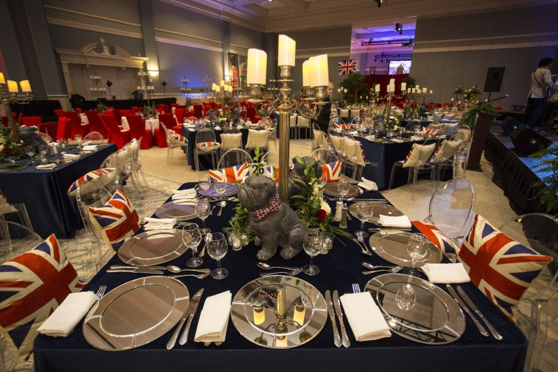 """This year's theme, """"Revolution of the Heart,"""" transported guests to London."""