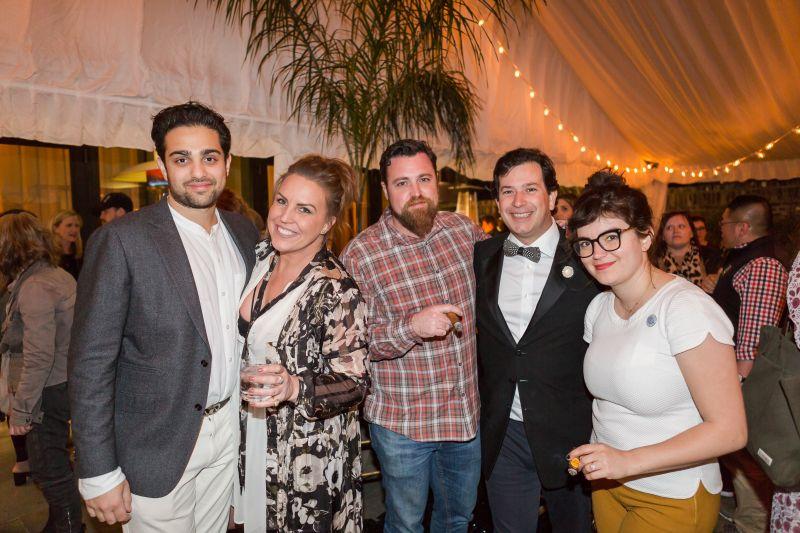 Ian Purkayastha, Kendall Coleman, Chef Matt Bolus, Rob Mondavi, and Ellen Bennett
