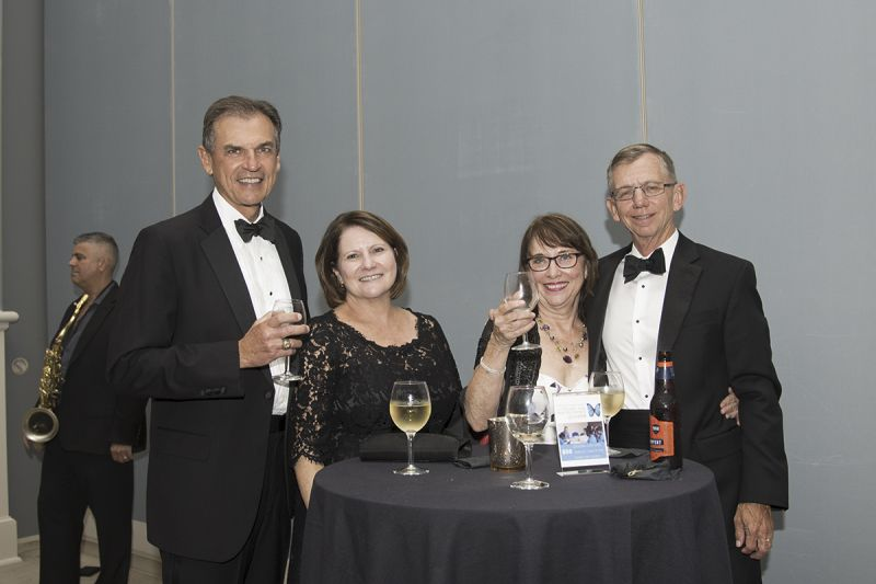 Enoch Booth, Kim Booth, Stephanie Grantham, and Woody Grantham
