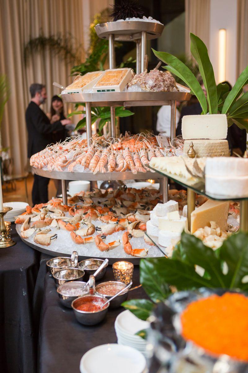 Regalis Foods' massive seafood tower