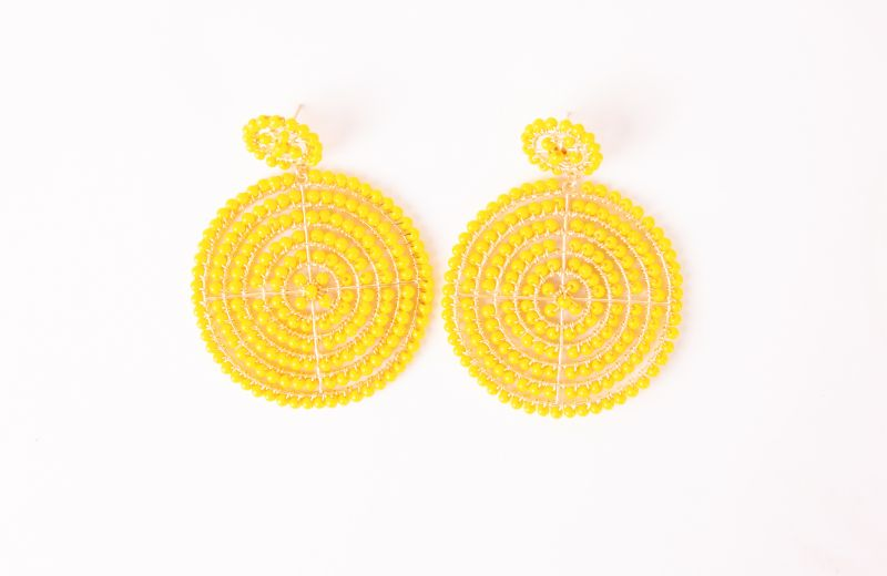 Lisi Lerch disk earrings, $98 at Skinny Dip