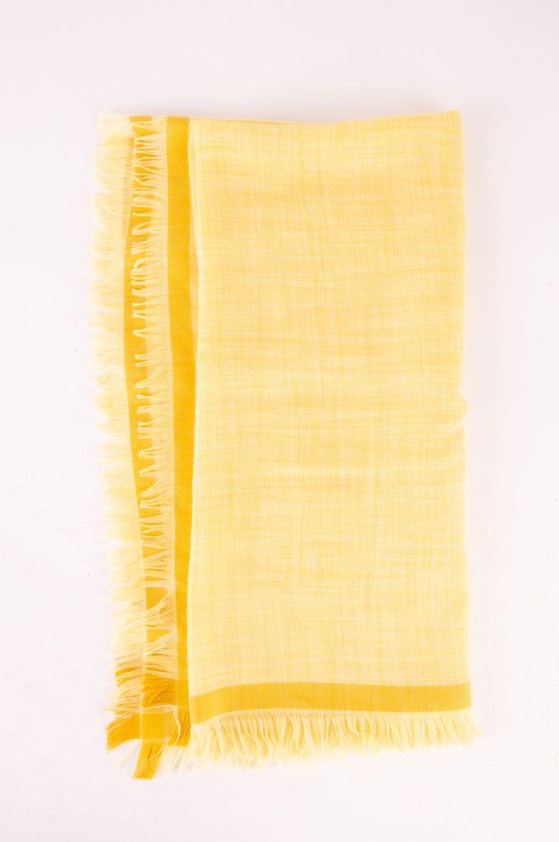 "Loro Piana ""Brina"" linen scarf, $475 at Gwynn's of Mount Pleasant"