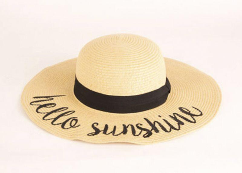 "Joules ""Hello Sunshine"" hat, $58 at V2V"