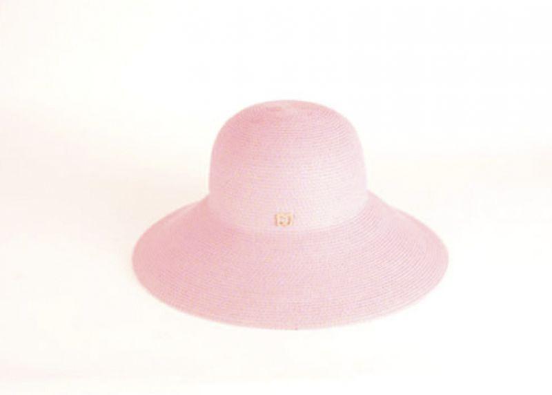 """Eric Javits """"Hampton"""" hat in """"pop pink,"""" $198 at Gwynn's of Mount Pleasant"""