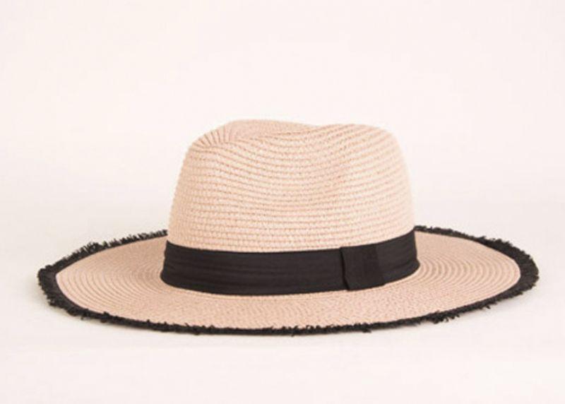 Maris Dehart straw hat, $34 at Maris Dehart