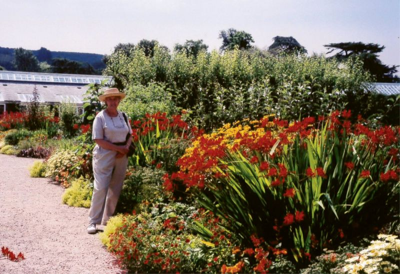 STUDY ABROAD: During the summer of 2000, Patti and Peter rented an English cottage that served as home base for a tour of gardens in Britain, including one in West Sussex