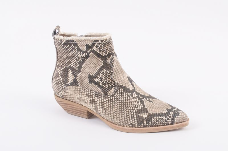 "Dolce Vita ""Unity"" snake skin-embossed leather boot, $160 at Shoes on King"