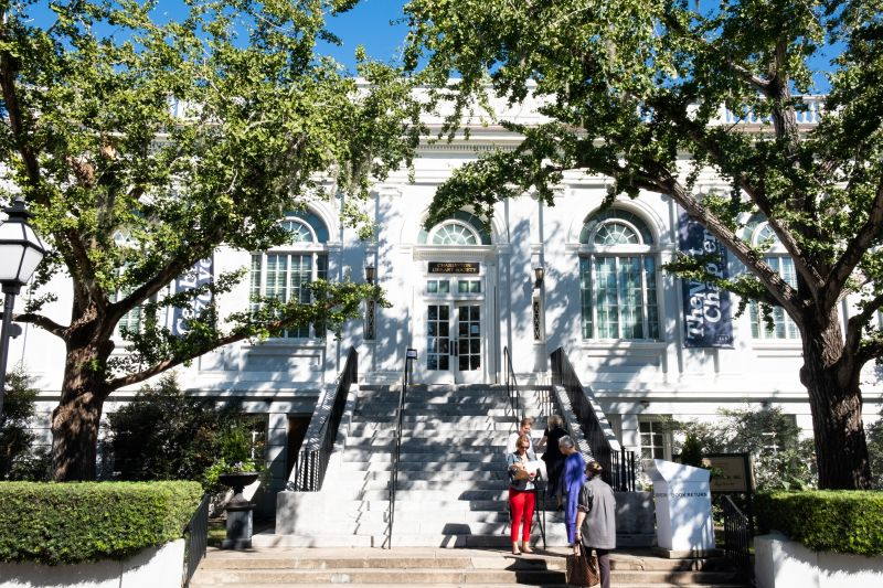 Charleston Library Society hosted the launch of Carolyne Roehm's latest book.