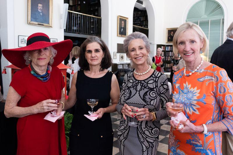 Patti Staempfli, Pilar de la Tassa, Wendy C.H. Wellin, and Betsy Saal