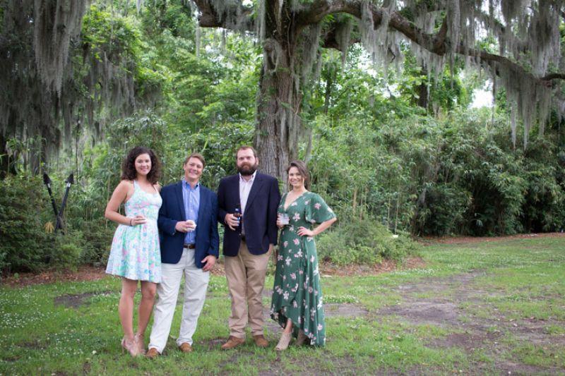 Emzee Hilliard, Jeremy Tiedt, John Crotts, and Lindsay Williams