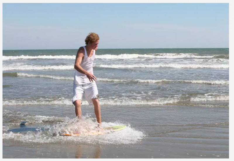 Isle of Palms - Skim Boarder