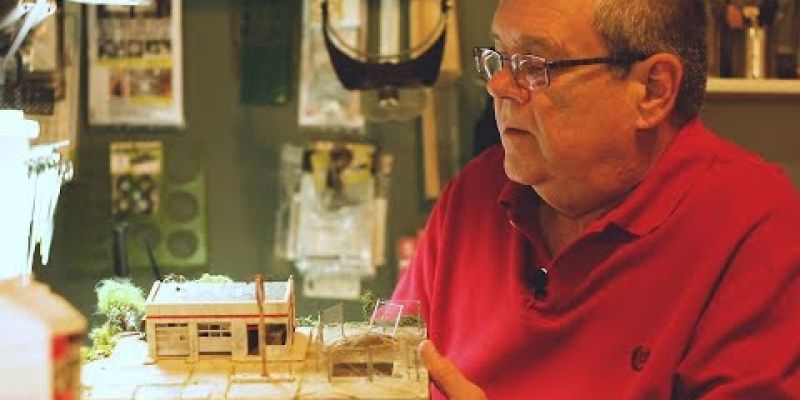 Embedded thumbnail for VIDEO: Ken Hamilton -Miniature Artist