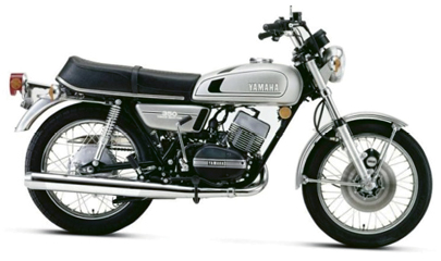 """Joy Ride - """"I have a 1975 Yamaha RD350. It's a widow maker—it carries a lot of power for its weight."""""""