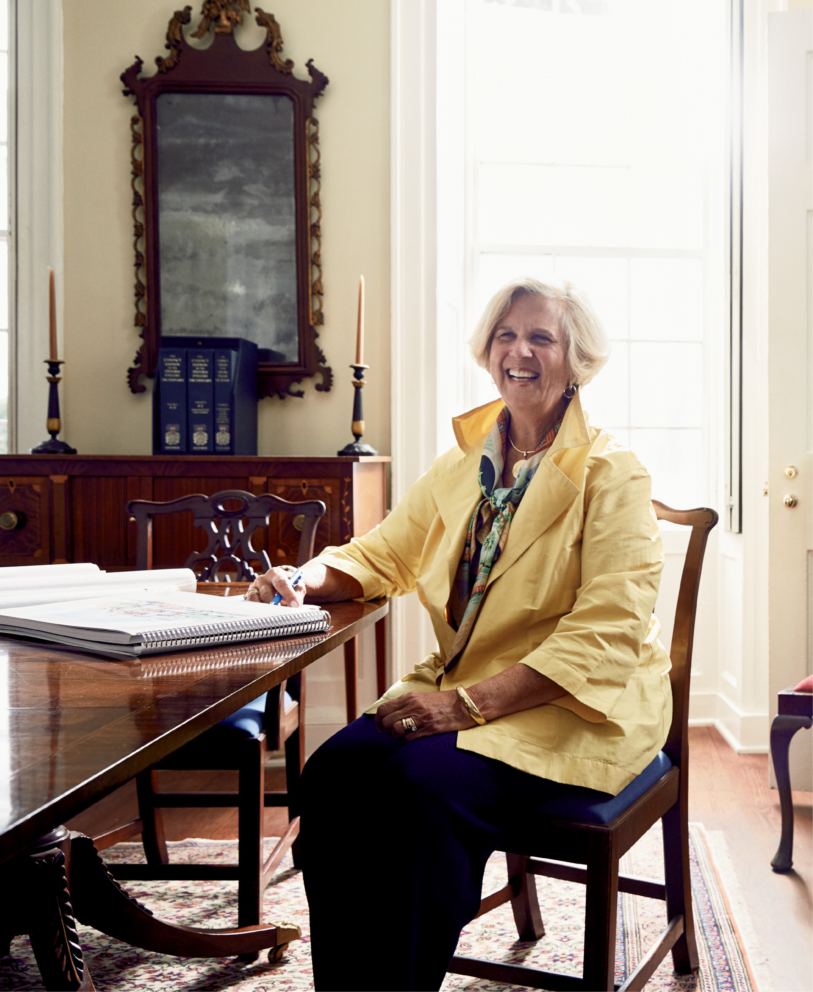 """I don't want the city to lose its character, to be overrun by too many cruise ships, hotels, and visitors. I want Charleston to keep its standards high."" —Kitty Robinson"