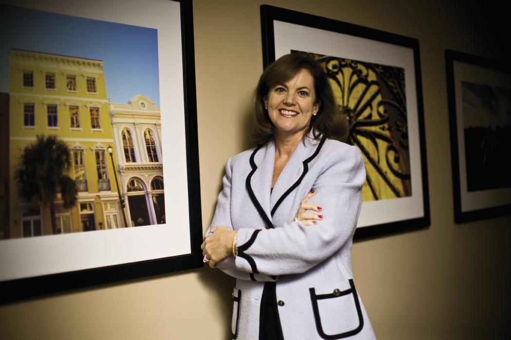 Charleston Convention & Visitors Bureau executive director Helen Hill