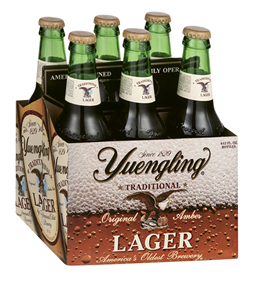 """Nostalgic Brew - """"Yuengling was the first real American beer I drank, so it's always been a staple."""""""