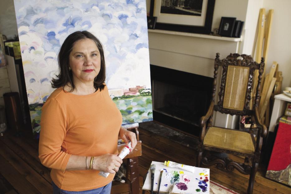 Arts ambassador Lese Corrigan