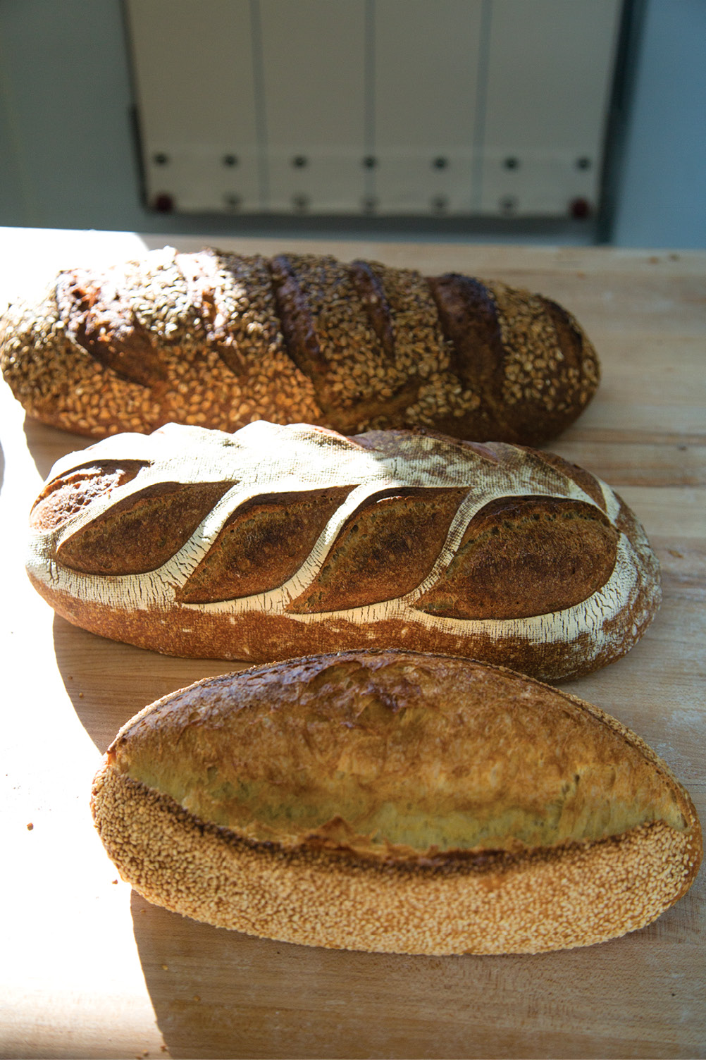 """BREAD: Root Baking Co.; """"Chris's bread is the best because he won't let it out of his door unless it's exactly what he wants."""" —Katy Keefe,  McCrady's and McCrady's Tavern"""