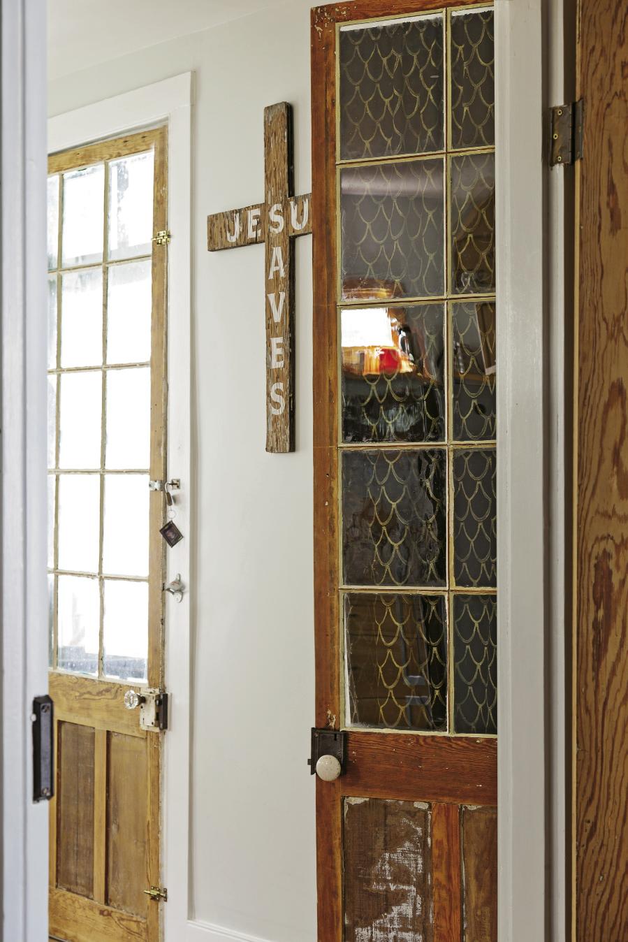 originally the home's back entry