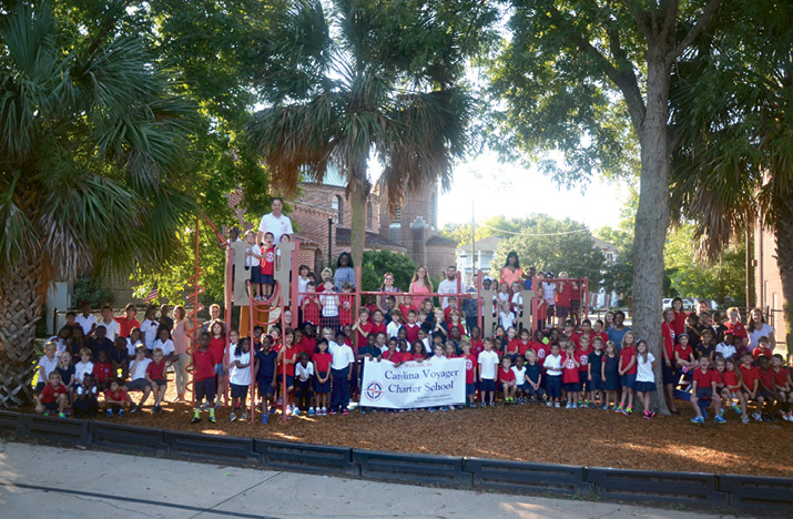 Charting Progress: In addition to their support of local parks, the Messners have helped launch two new public charter schools: Carolina Voyagerand Allegro, which infuses music education throughout its curriculum.