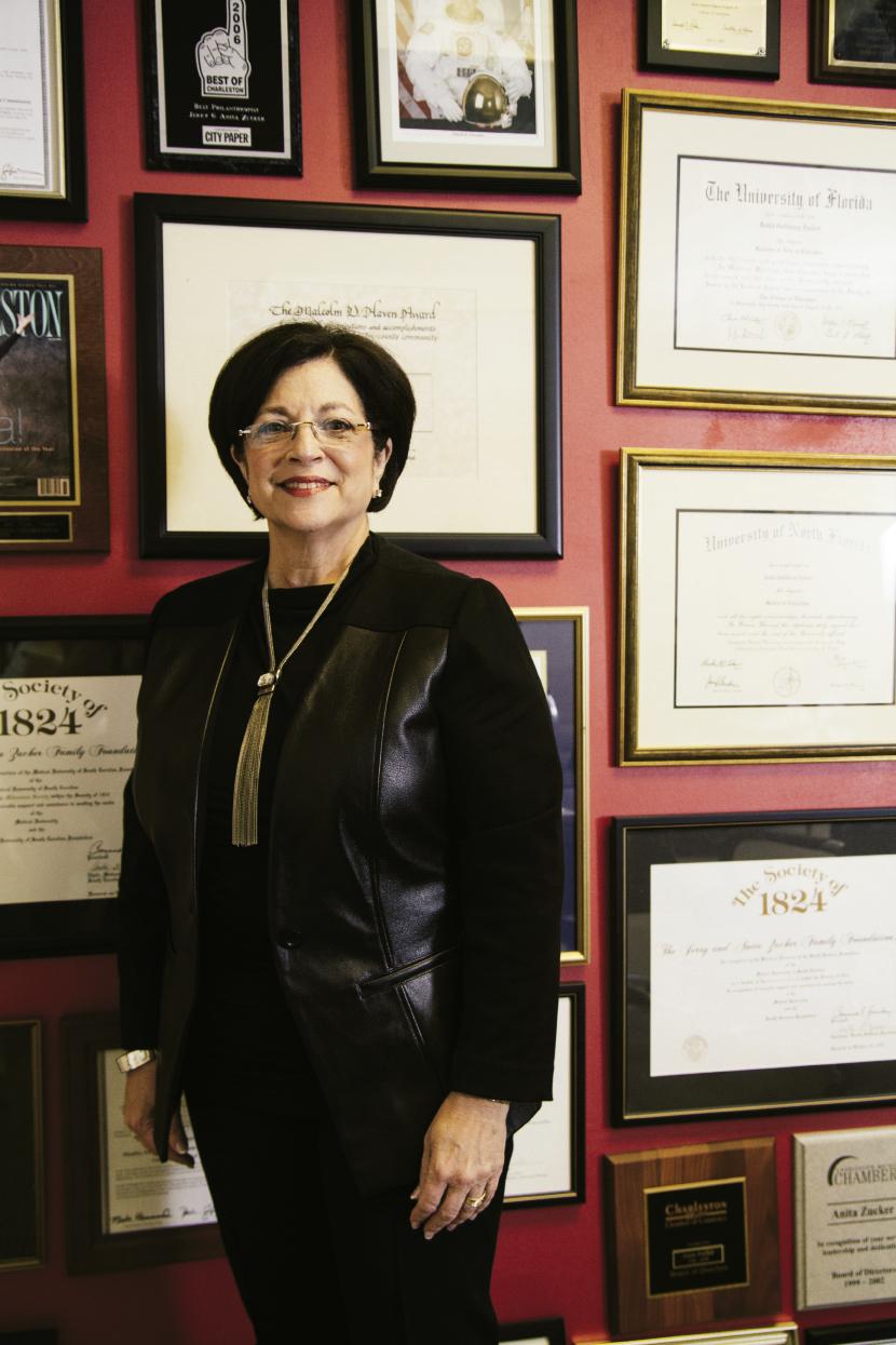 Businesswoman & philanthropist Anita Zucker