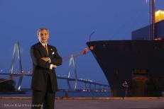 South Carolina Ports Authority CEO Jim Newsome