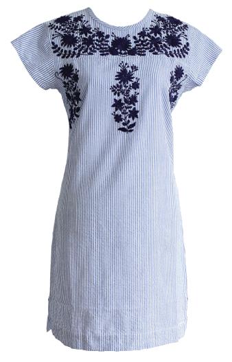 A dress by the Charleston-based Madison-Mathews