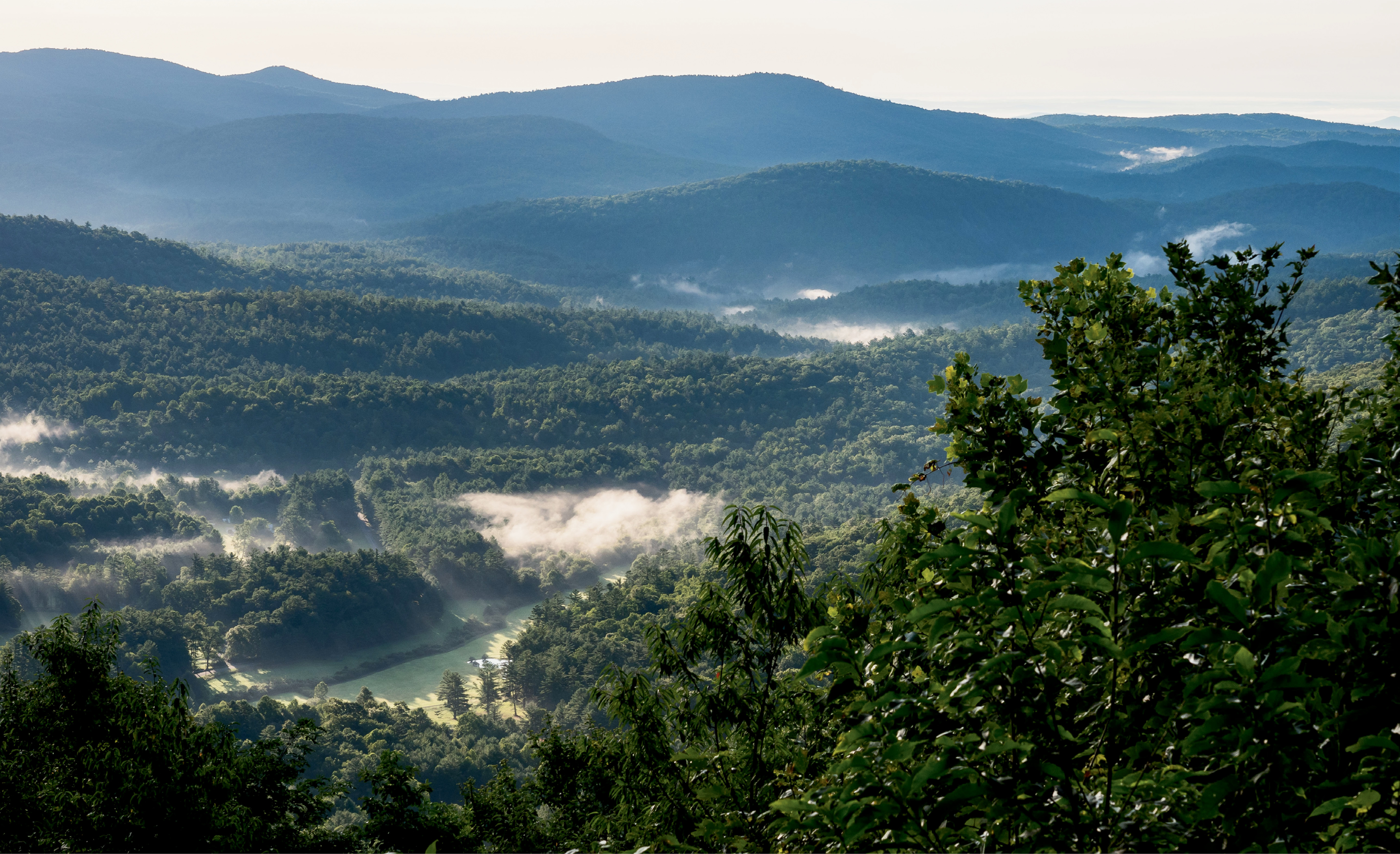 Another elevated summer day in Highlands, perched more than 4,100 feet up in the Nantahala National Forest