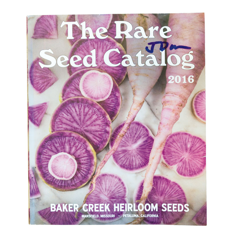 """Scintillating Seeds """"The annual catalog from Baker Creek Heirloom Seeds is the ultimate in veggie porn."""""""