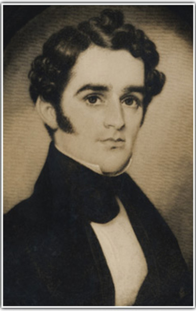 """Reverend John Grimke Drayton (1816-1891), of Old St. Andrew's, led a dual life as both wealthy planter at Magnolia-on-the-Ashley and parish priest. He is credited with establishing the plantation's famous gardens in 1843 to create an """"earthly paradise in which my dear Julia [his wife] may forever forget Philadelphia and her desire to return there."""""""