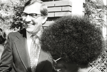 Governor James B. Edwards in the early 1970s while serving the South Carolina Senate