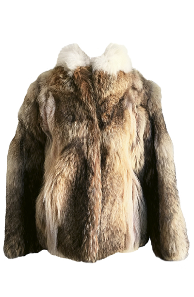 Fur jacket from Seeline Vintage