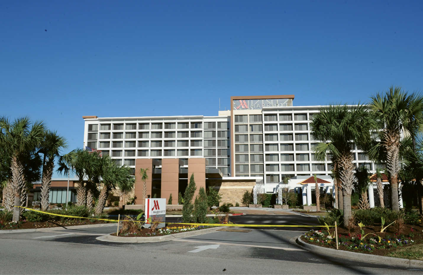 The newly redesigned Marriott North Charleston, near Charleston International Airport