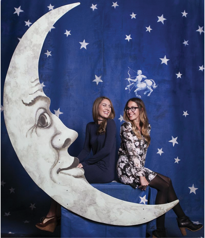 Lunar photo ops are a highlight of the Halsey's annual Moon Party.