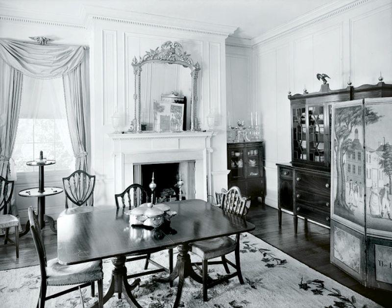 A look inside Fenwick Hall in 1933