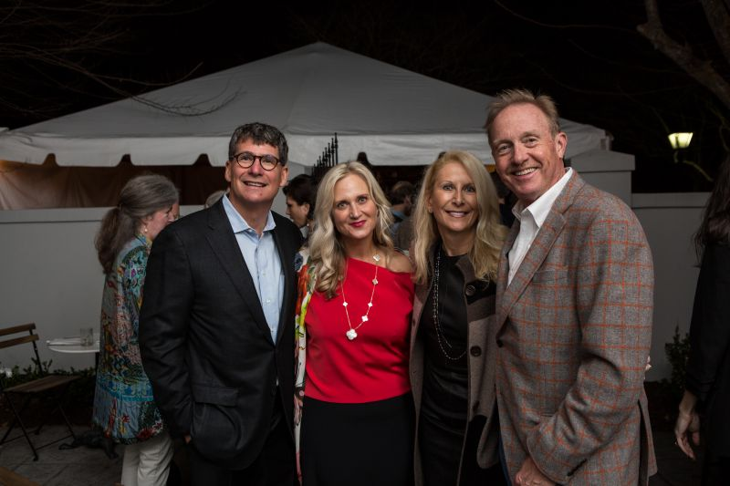 Brian and Lisa Keller with Kelly and David Lyle