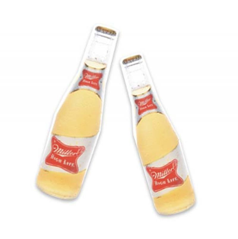 "Poppin' Bottles: ""After work, Miller High Life is our thirst quencher. We go with 'cold and quick' when we drink it."""