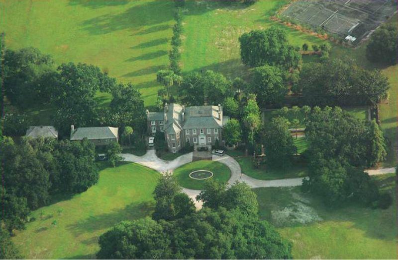 The original Fenwick Hall Plantation included 7,000 acres on John's Island.